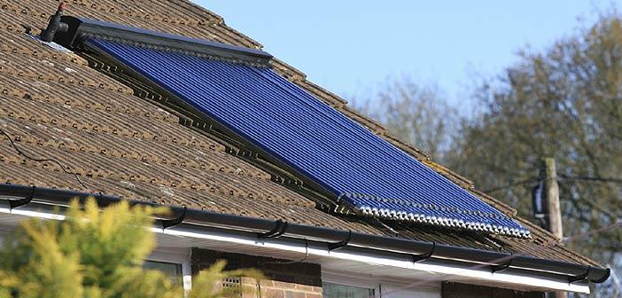 Système solaire combiné - Panneau solaire