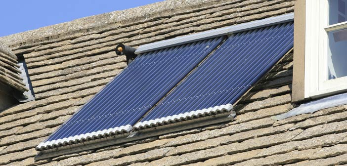 Chauffe-eau solaire - Panneau solaire